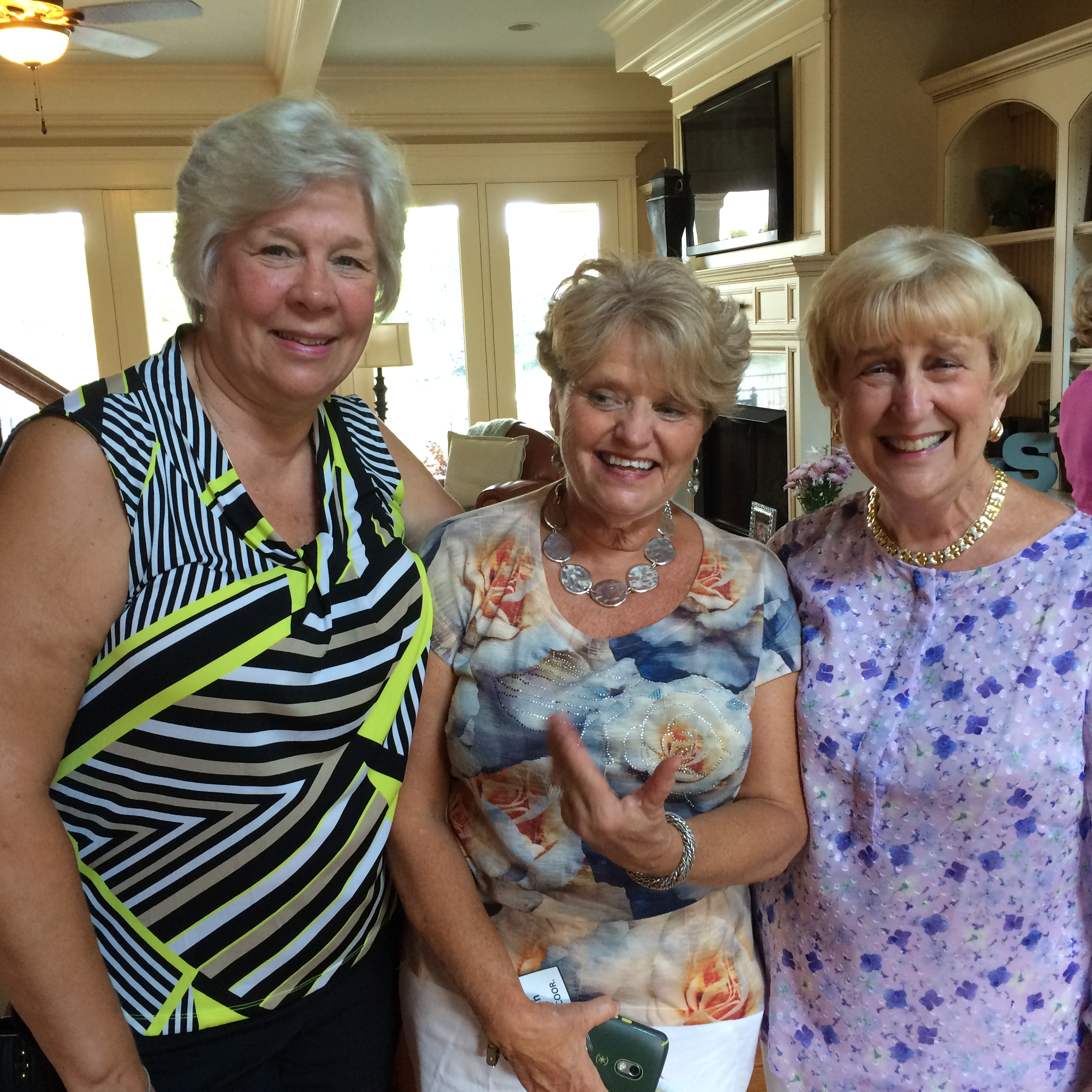 Ice Cream Social at Maggie Smith's Home was grand success. Thank you Maggie.