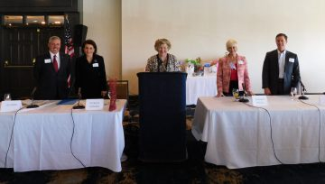 April Luncheon was a Panel Discussion