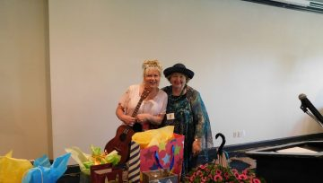 May Luncheon was full of smiles and laughs